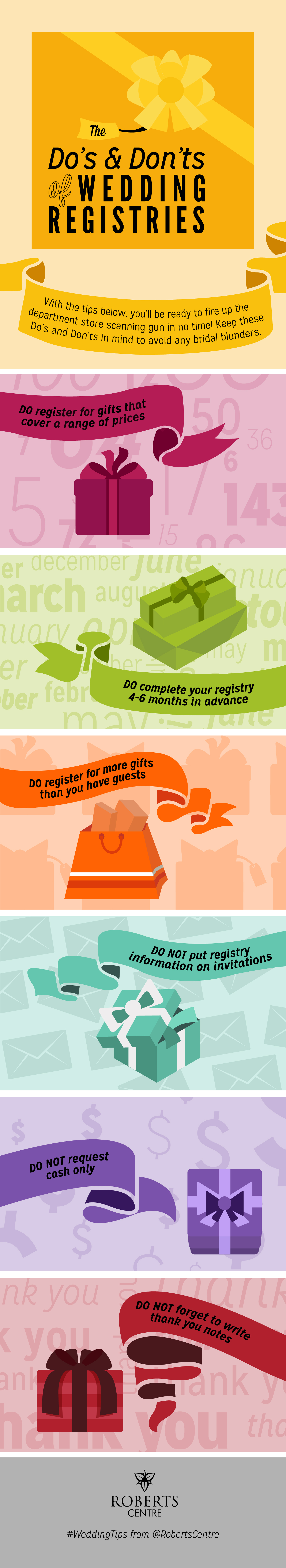 The Dos And Don Ts Of Wedding Registry Etiquette Wedding Planning