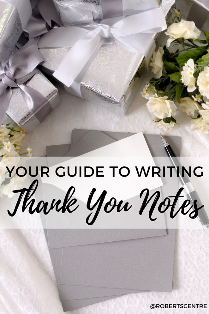 Wedding Gift Thank You Etiquette Tips Roberts Centre
