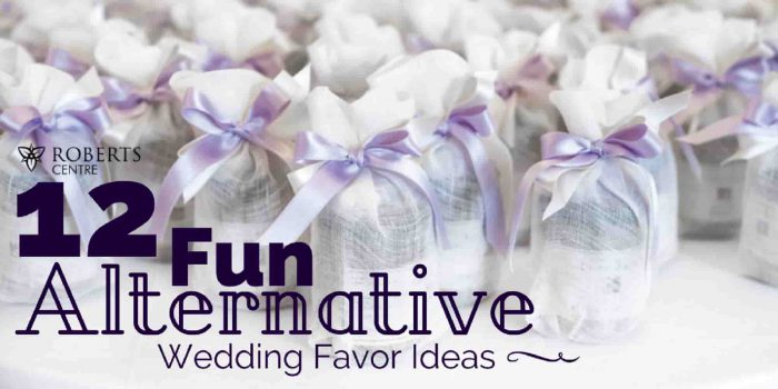 12 fun alternative wedding favor ideas roberts centre alternative wedding favor ideas junglespirit Choice Image