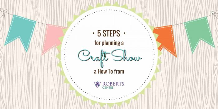 Planning a craft show